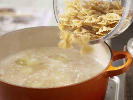 Gorgonzola-Pasta: Zubereitungsschritt 2