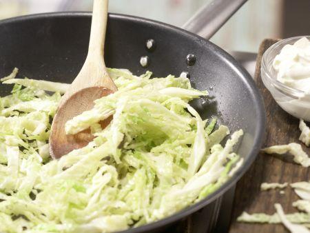 Gorgonzola-Pasta: Zubereitungsschritt 4