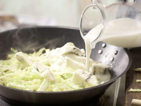 Gorgonzola-Pasta: Zubereitungsschritt 5