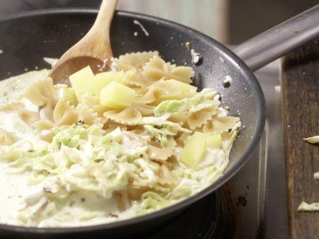 Gorgonzola-Pasta: Zubereitungsschritt 6