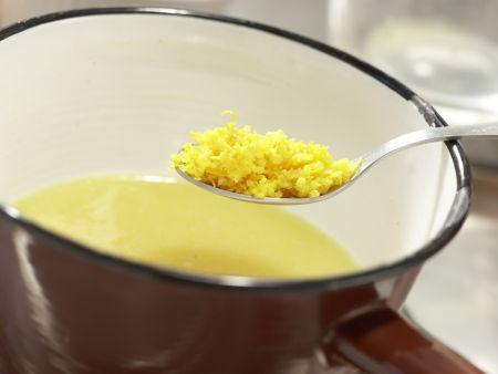 Gratinierte Ananas: Zubereitungsschritt 1