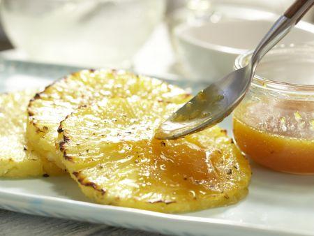 Gratinierte Ananas: Zubereitungsschritt 7