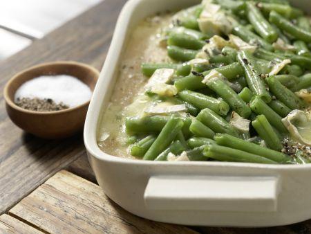 Gratinierte grüne Bohnen: Zubereitungsschritt 6