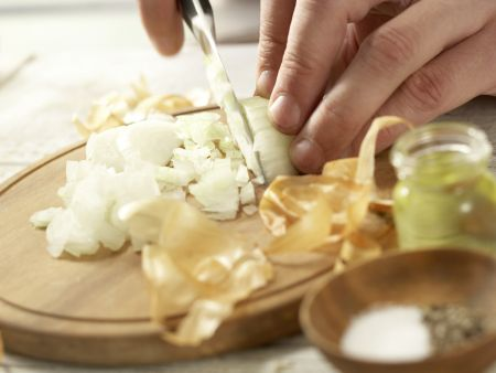 Gratinierte Pilzschnitzel: Zubereitungsschritt 3