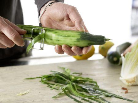 Griechische Gemüsepfanne: Zubereitungsschritt 1
