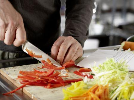 Griechische Gemüsepfanne: Zubereitungsschritt 4