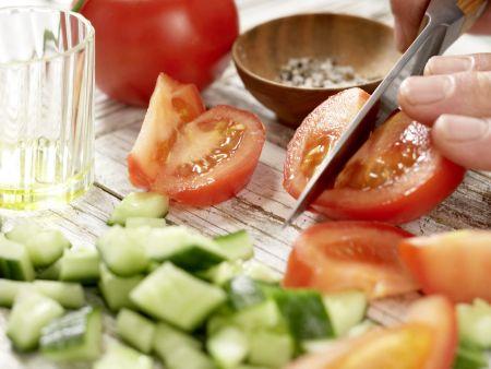 Griechischer Tintenfischsalat: Zubereitungsschritt 4
