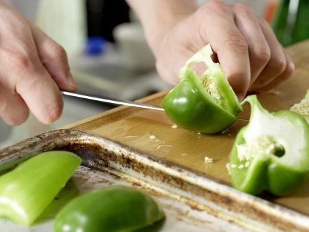 Grüne Kartoffelpfanne: Zubereitungsschritt 1