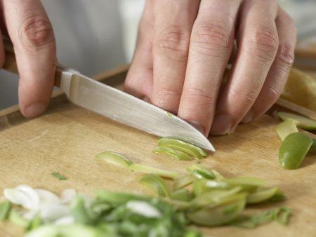 Grüne Kartoffelpfanne: Zubereitungsschritt 6