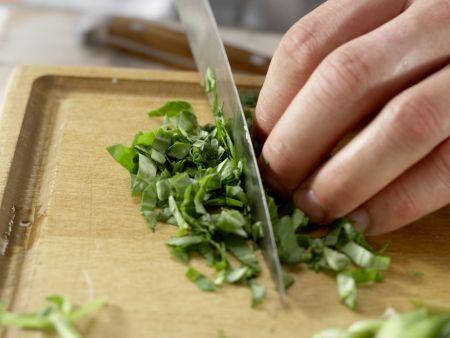 Grüne Kartoffelpfanne: Zubereitungsschritt 7