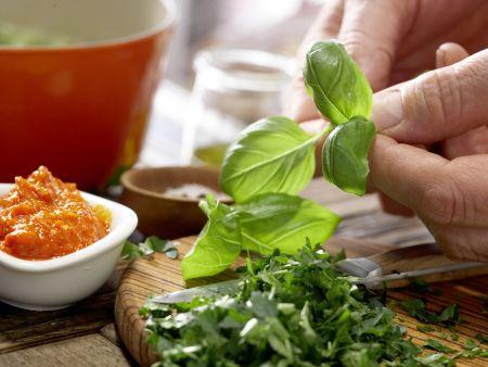 Grüne Kichererbsensuppe: Zubereitungsschritt 4