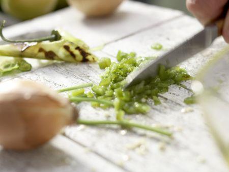 Grüne Tomaten-Salsa: Zubereitungsschritt 3