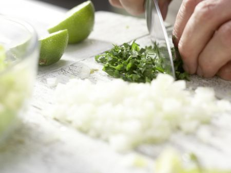Grüne Tomaten-Salsa: Zubereitungsschritt 6