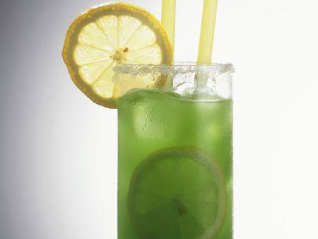 Grüner Alligator Cocktail