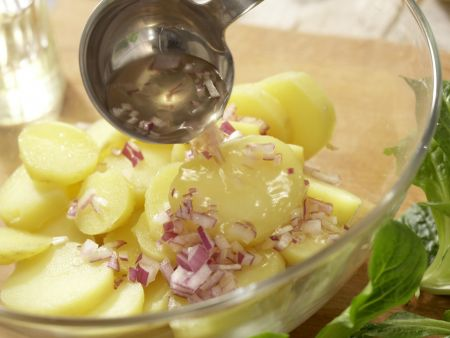 Grüner Kartoffelsalat: Zubereitungsschritt 3