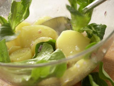 Grüner Kartoffelsalat: Zubereitungsschritt 8