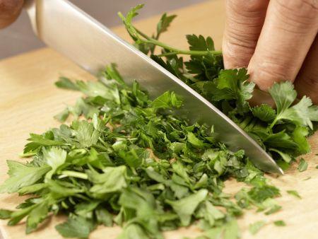 Grüner Möhren-Mix: Zubereitungsschritt 2