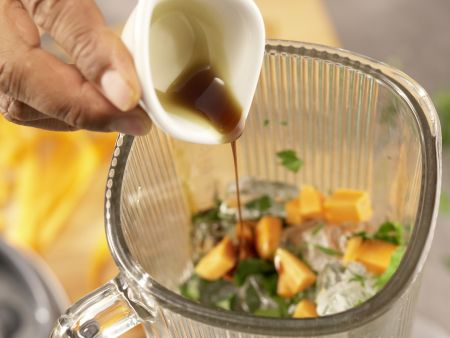 Grüner Möhren-Mix: Zubereitungsschritt 3
