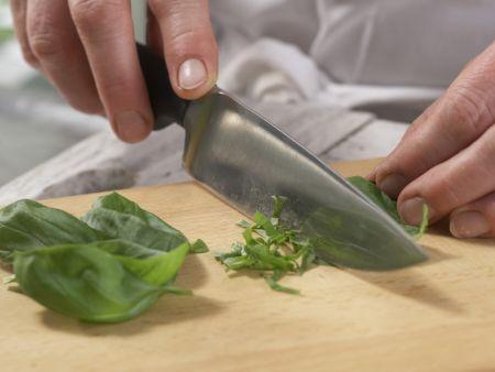 Grünes Gurkengemüse: Zubereitungsschritt 9