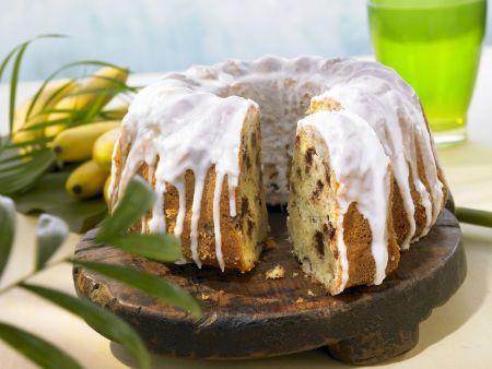 Gugelhupf mit Banane