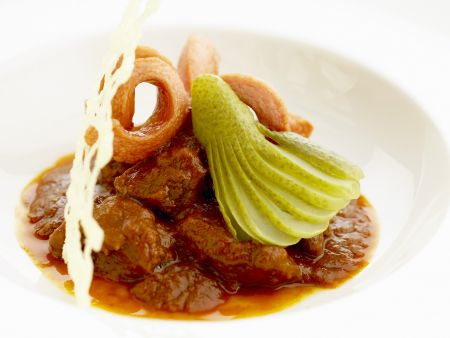 Rezept: Gulasch auf Wiener Art (Fiakergulasch)