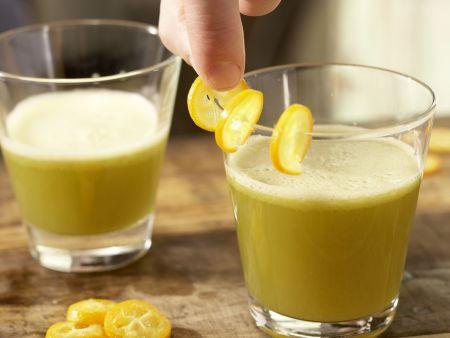 Gurken-Melonen-Drink: Zubereitungsschritt 4