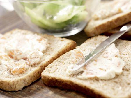 Gurken-Sandwiches: Zubereitungsschritt 6