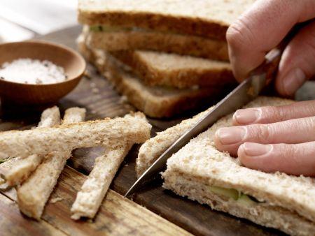 Gurken-Sandwiches: Zubereitungsschritt 9