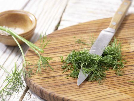 Gurkengemüse mit Schinken: Zubereitungsschritt 7