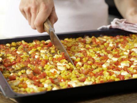 Hack-Gemüse-Boote: Zubereitungsschritt 8