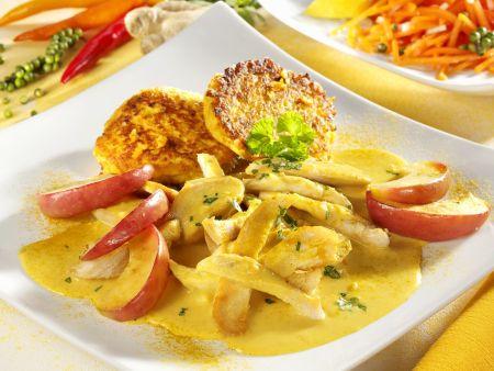 Hähnchen-Apfel-Curry