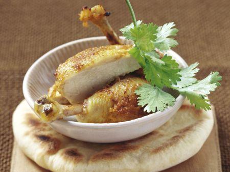 Rezept: Hähnchen auf Tandoori-Art