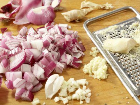 Hähnchen und Brokkoli aus dem Wok: Zubereitungsschritt 4
