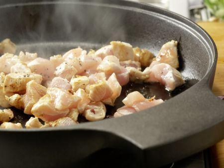 Hähnchen und Brokkoli aus dem Wok: Zubereitungsschritt 6