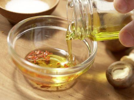 Hähnchen-Champignon-Spieße: Zubereitungsschritt 3