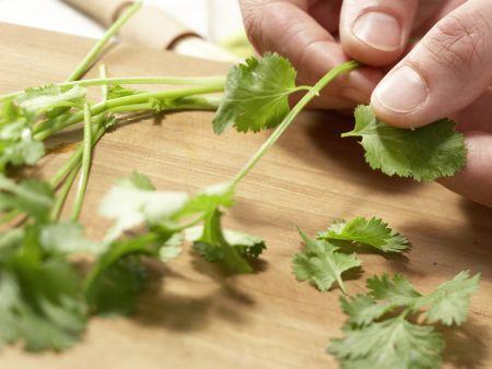Hähnchen-Champignon-Spieße: Zubereitungsschritt 7