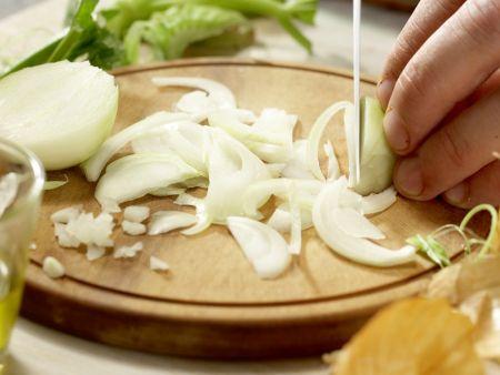 Hähnchen auf chinesische Art: Zubereitungsschritt 3