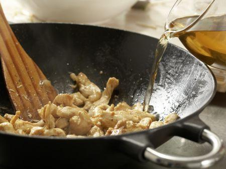 Hähnchen auf chinesische Art: Zubereitungsschritt 8