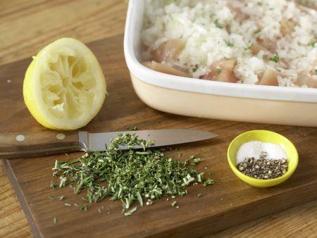 Hähnchen-Gemüse-Spieße: Zubereitungsschritt 3