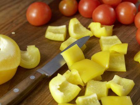 Hähnchen-Gemüse-Spieße: Zubereitungsschritt 8