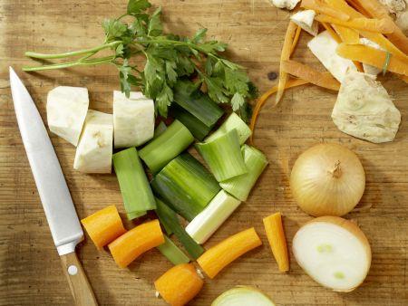 Hähnchen-Gemüse-Topf: Zubereitungsschritt 1
