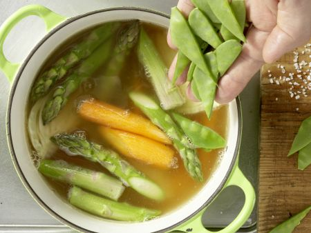 Hähnchen-Gemüse-Topf: Zubereitungsschritt 7