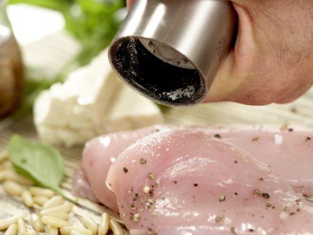 Hähnchen-Kartoffel-Salat: Zubereitungsschritt 2