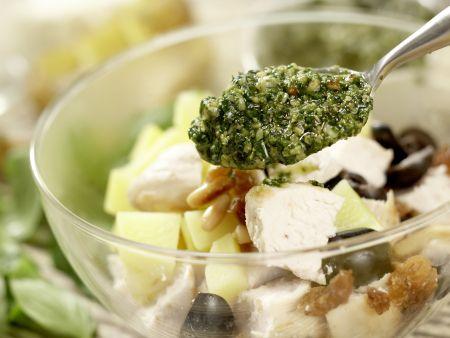 Hähnchen-Kartoffel-Salat: Zubereitungsschritt 9