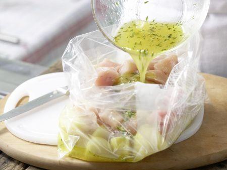 Hähnchen-Kartoffel-Spieße: Zubereitungsschritt 5
