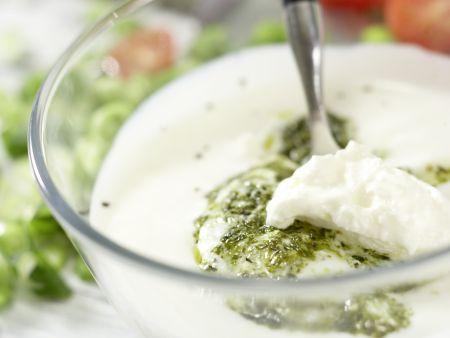 Hähnchen-Nudelsalat: Zubereitungsschritt 6