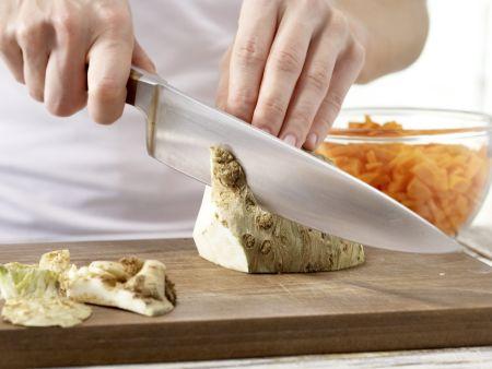 Hähnchen-Pasta: Zubereitungsschritt 1