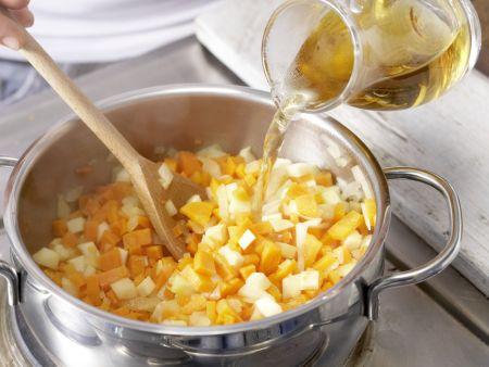 Hähnchen-Pasta: Zubereitungsschritt 3