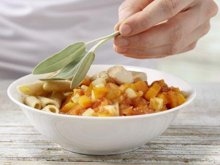 Hähnchen-Pasta: Zubereitungsschritt 9
