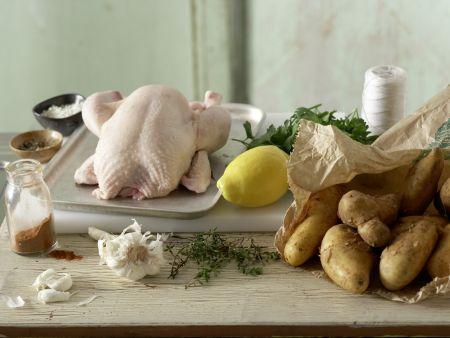 Hähnchen nach spanischer Art: Zubereitungsschritt 1